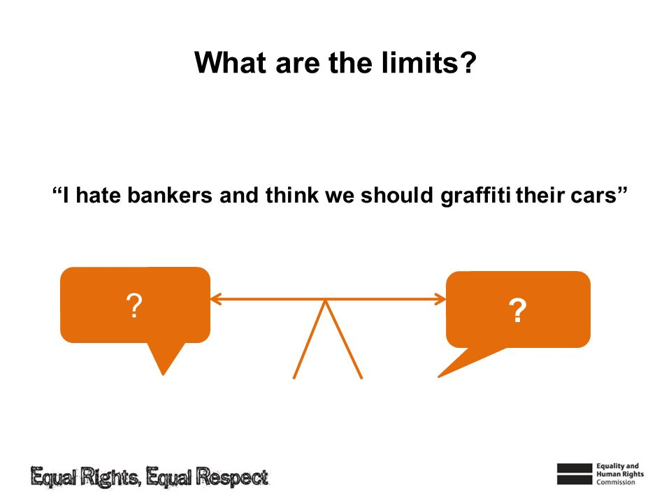 What are the limits I hate bankers and think we should graffiti their cars