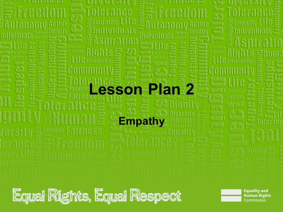 Lesson Plan 2 Empathy