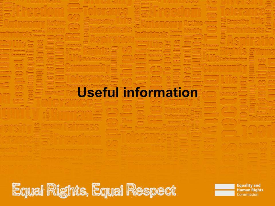 Useful information