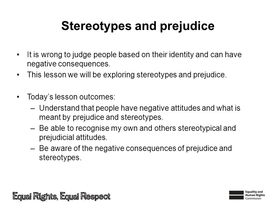 stereotyping and discrimination worksheet Stereotypes and prejudice discrimination a second intervention program stereotypes now have a more subtle and, perhaps.