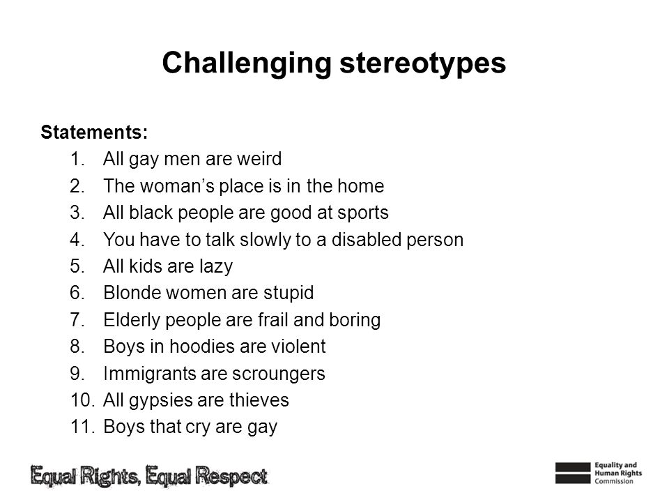 stereotypes of the disabled According to paul hunt's 1991 study, the top ten stereotypes of disability are they are pitiable and pathetic he said that people think we should feel sorry for them as they don't have the.