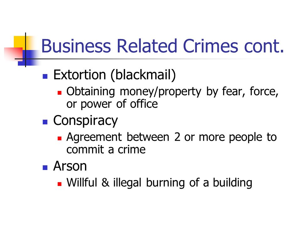business affiliated wrongdoing articles
