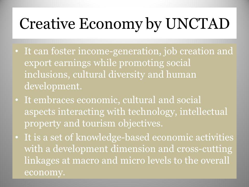 Creative Economy by UNCTAD