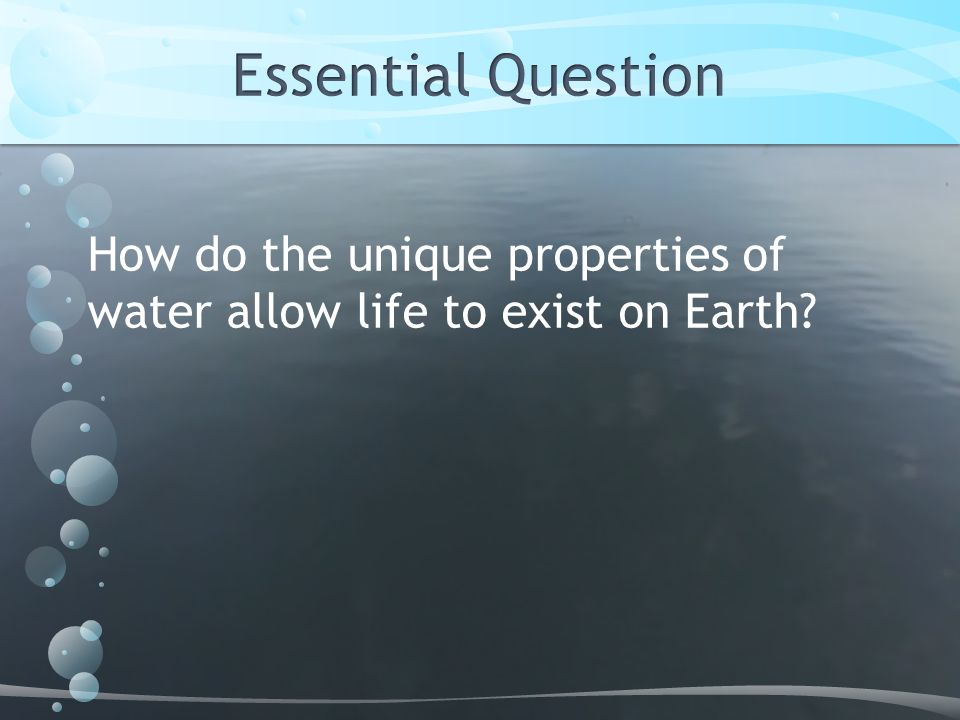 properties of life on earth Continuation of life, not necessary for survival of the organism, but if life on earth is to continue, it is necessary heredity ability of an organism to pass on info about itself to its offspring concerning chemical/physical makeup.