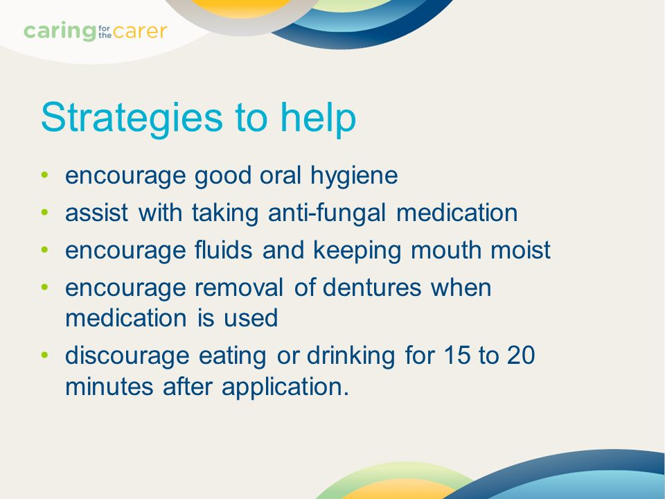 Strategies to help encourage good oral hygiene