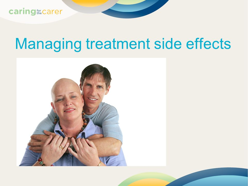 Managing treatment side effects