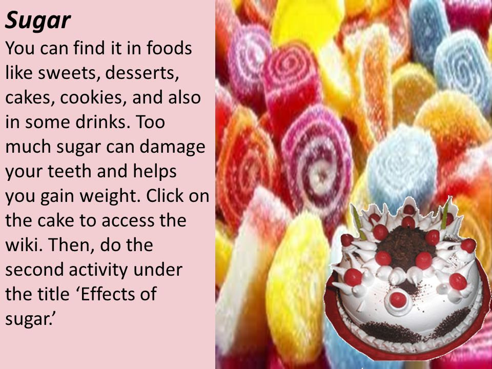 Foods and drinks high in fat, salt and sugars