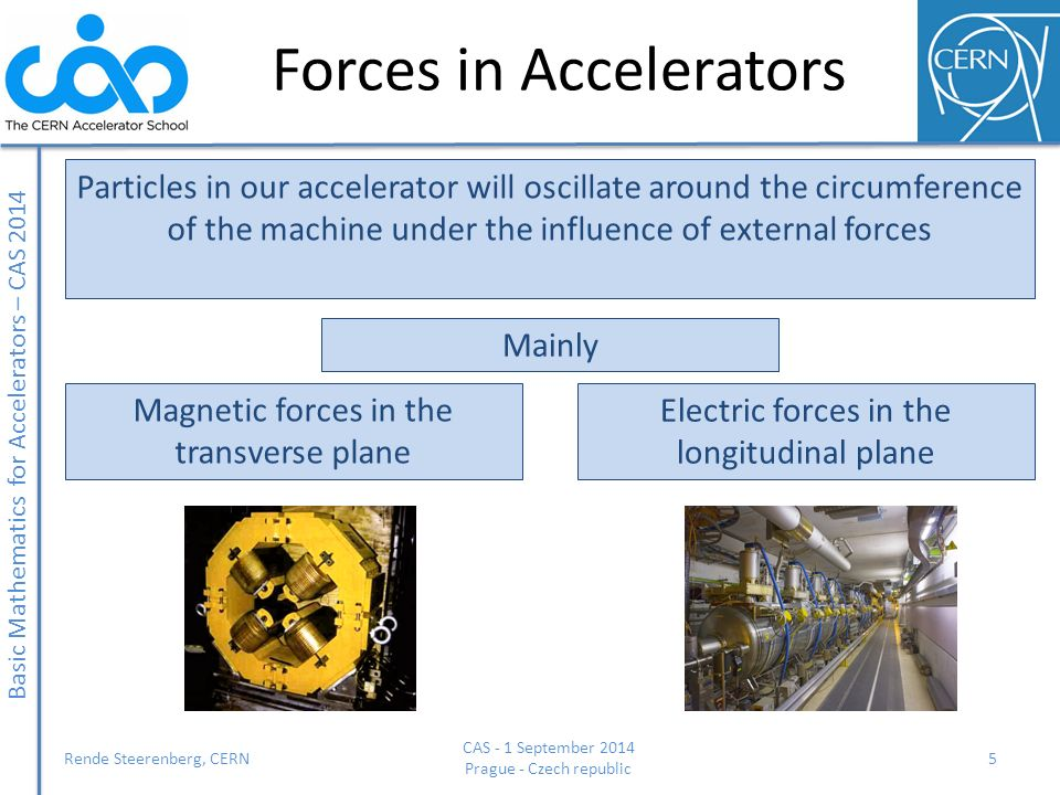 Forces in Accelerators