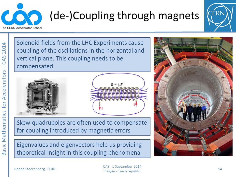 (de-)Coupling through magnets