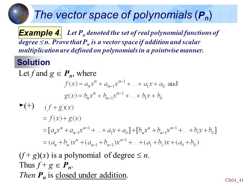 What is the origin of an algebra as in vector space with