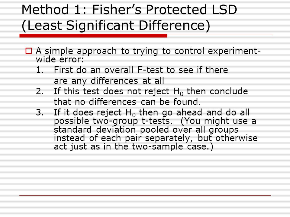 fisher s testing methodology How to use spss to compute a chi-square test for 2-way tables and interpret the output when assumptions have been violated (use fisher's exact or likelihood ratio instead).