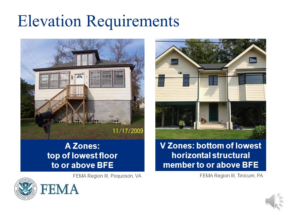 Lowest Floor Elevation Fema Form : Building codes and floodplain management ppt download