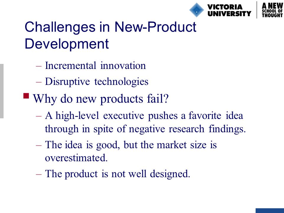 challenges of product development pdf