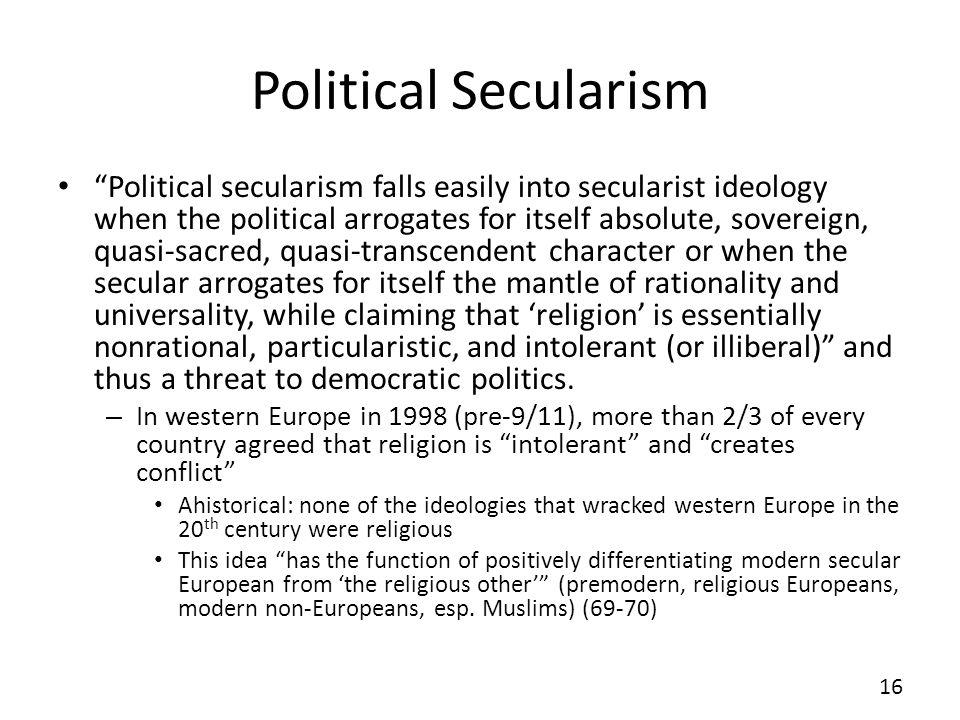 Political Secularism