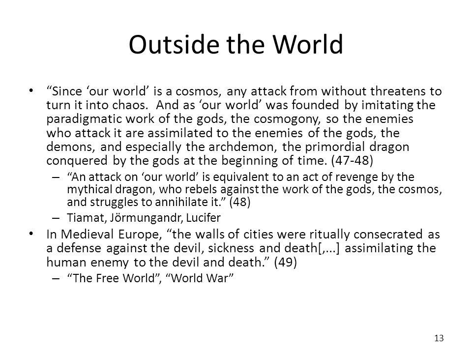 Outside the World