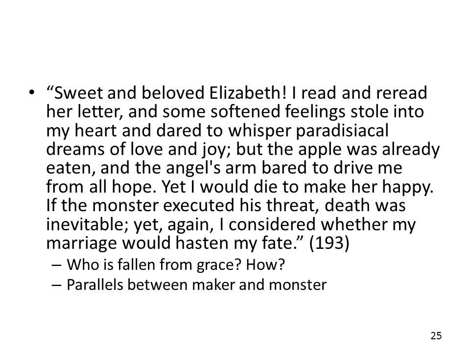 Sweet and beloved Elizabeth
