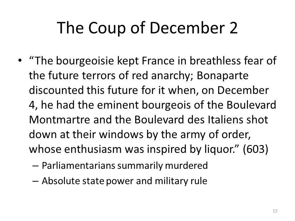 The Coup of December 2