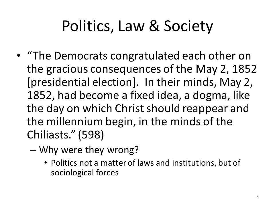 Politics, Law & Society