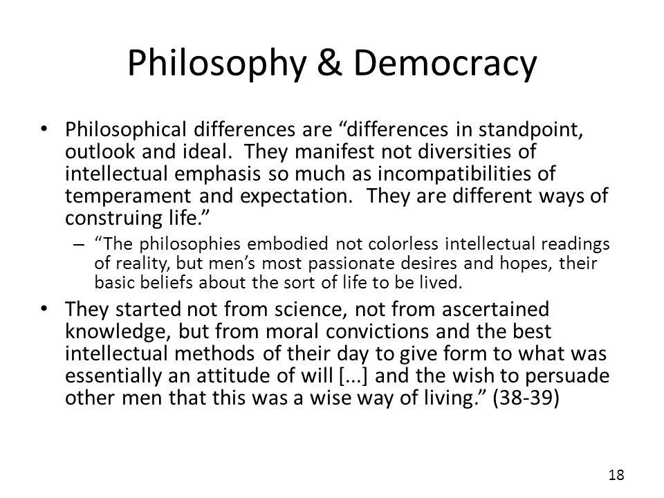Philosophy & Democracy