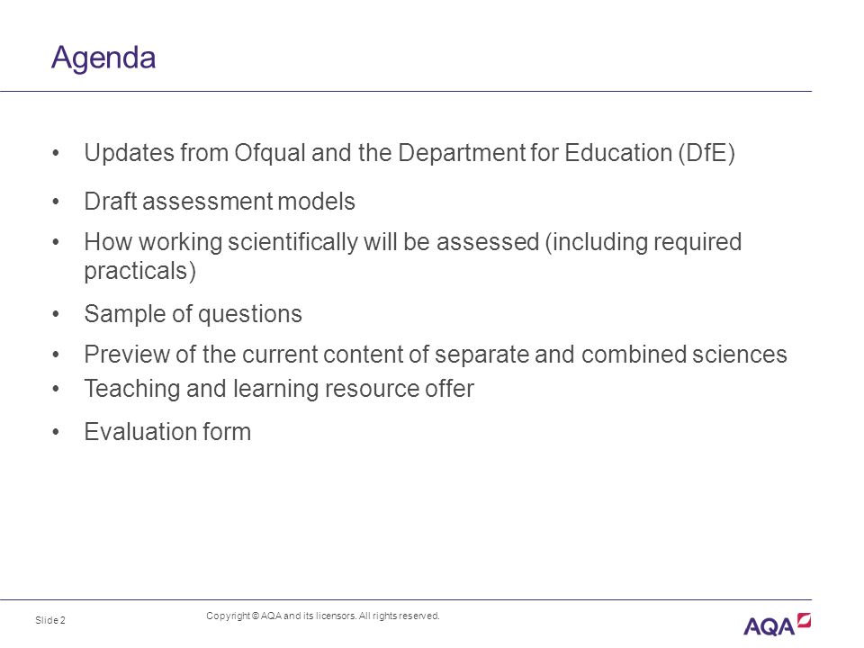 Key Stage  Science A Preview Of The New Qualifications  Ppt