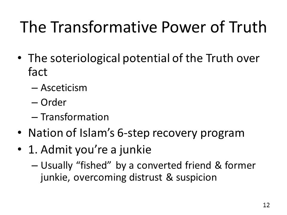 The Transformative Power of Truth