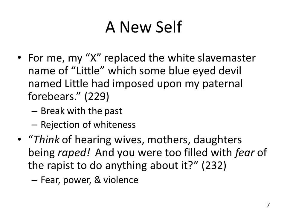 A New Self