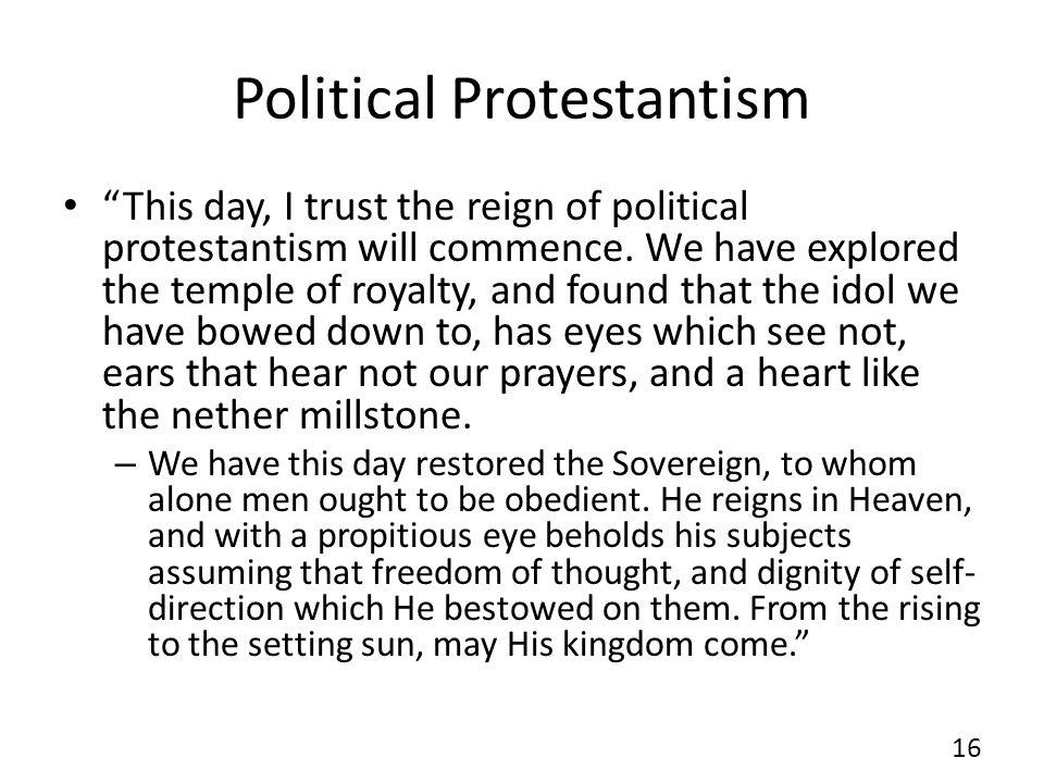 Political Protestantism