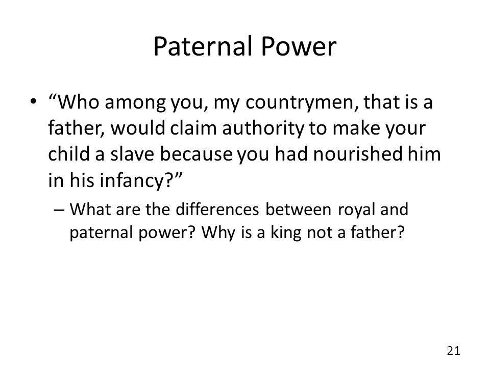 Paternal Power