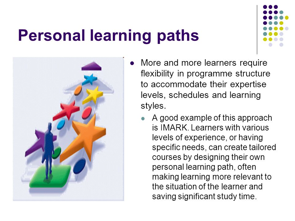 Personal learning paths