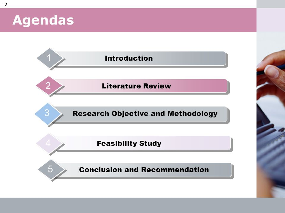 Research Objective and Methodology Conclusion and Recommendation
