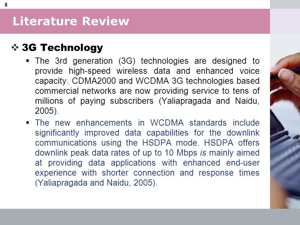 Literature Review 3G Technology
