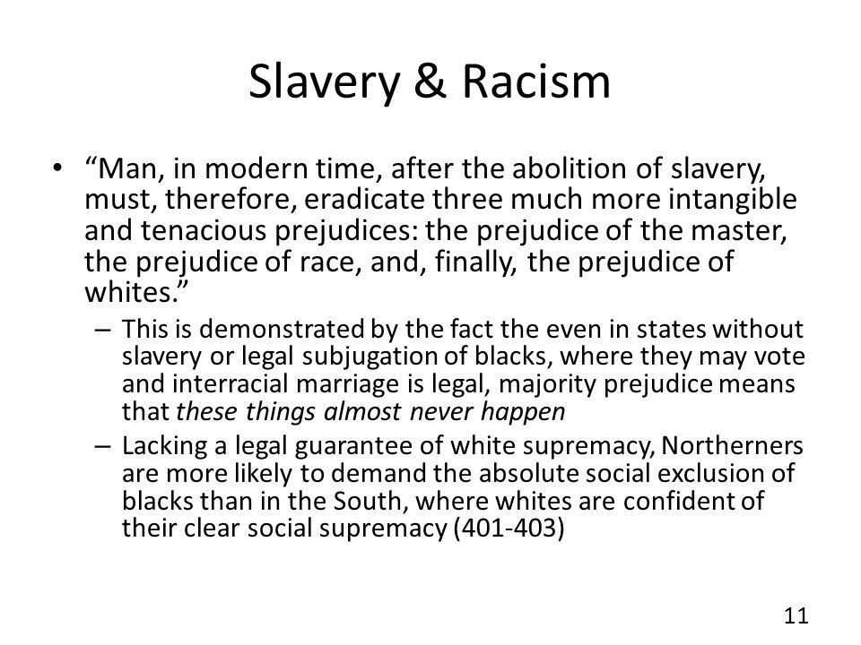 Slavery & Racism