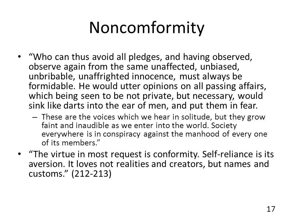 Noncomformity