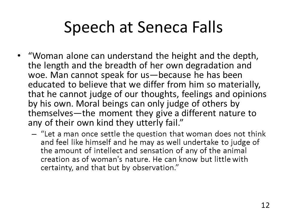 Speech at Seneca Falls
