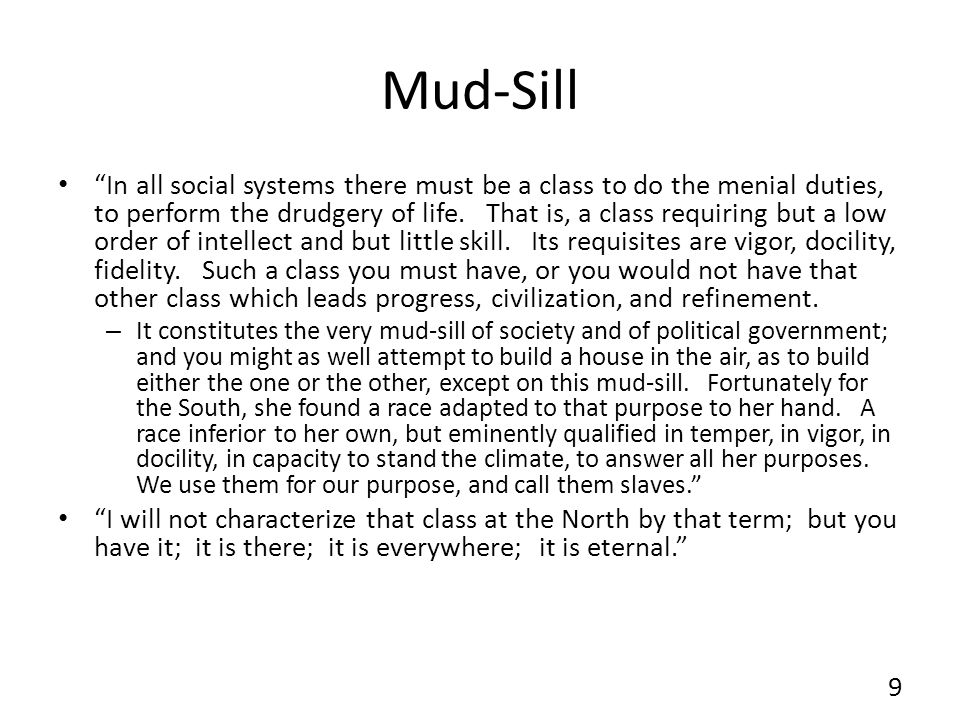 Mud-Sill