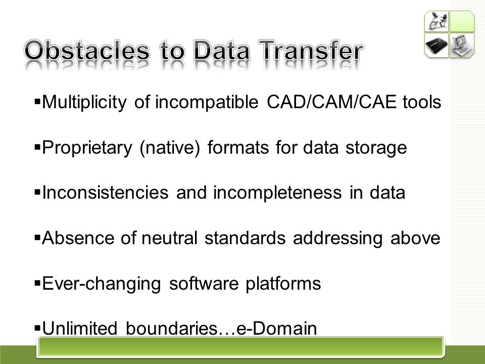 Obstacles to Data Transfer