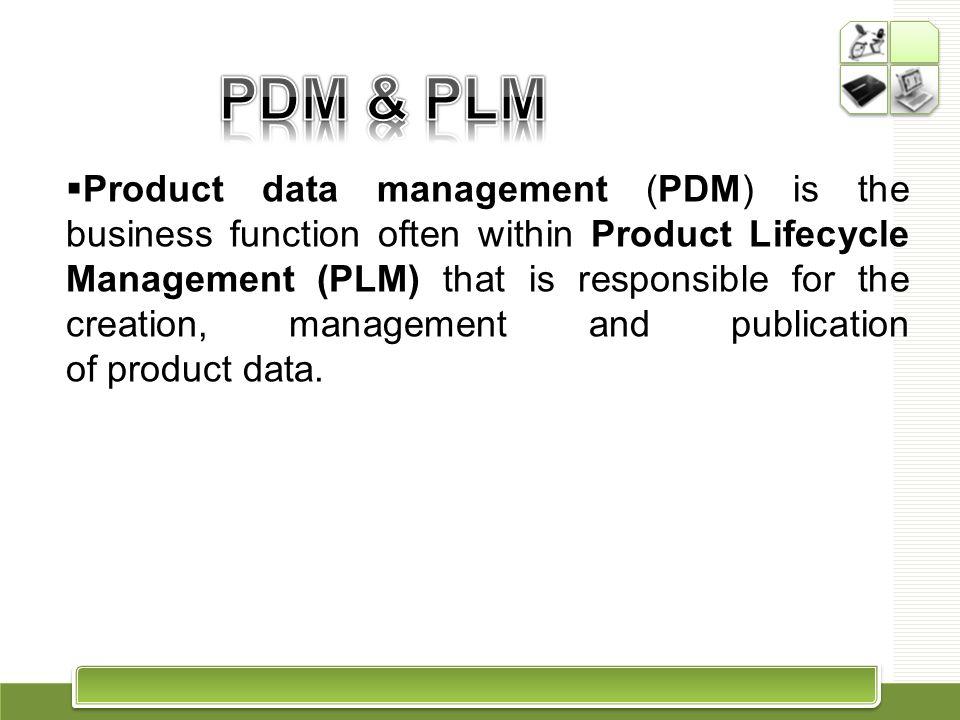 PDM & PLM