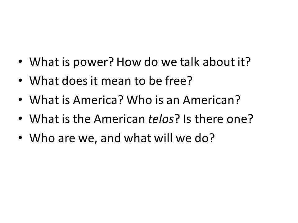 What is power How do we talk about it