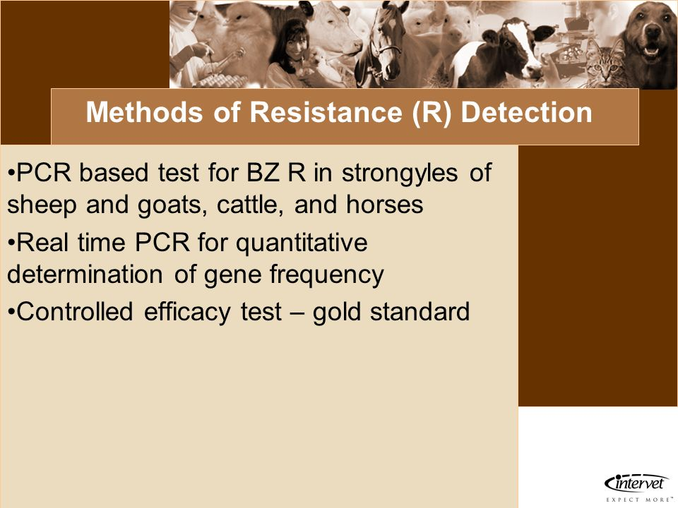 Methods of Resistance (R) Detection