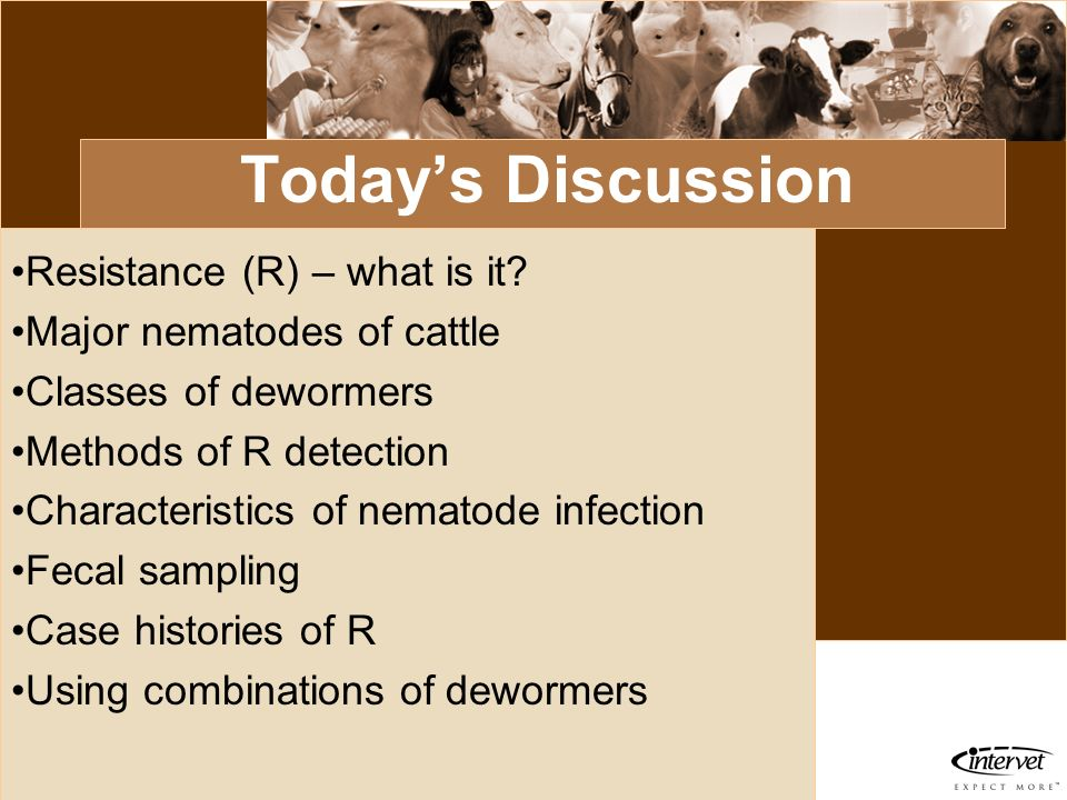 Today's Discussion Resistance (R) – what is it