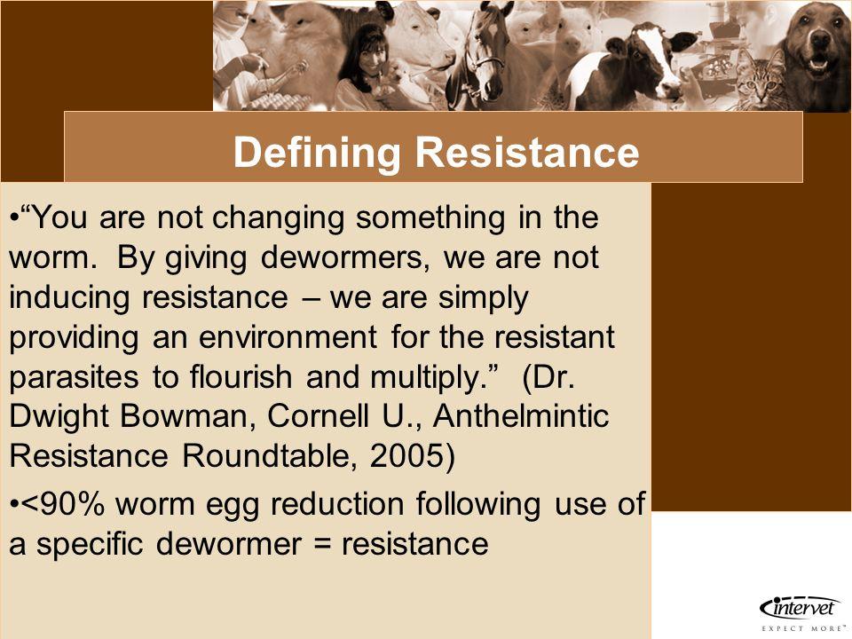 Defining Resistance