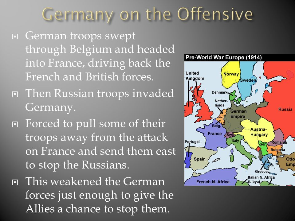 Germany on the Offensive