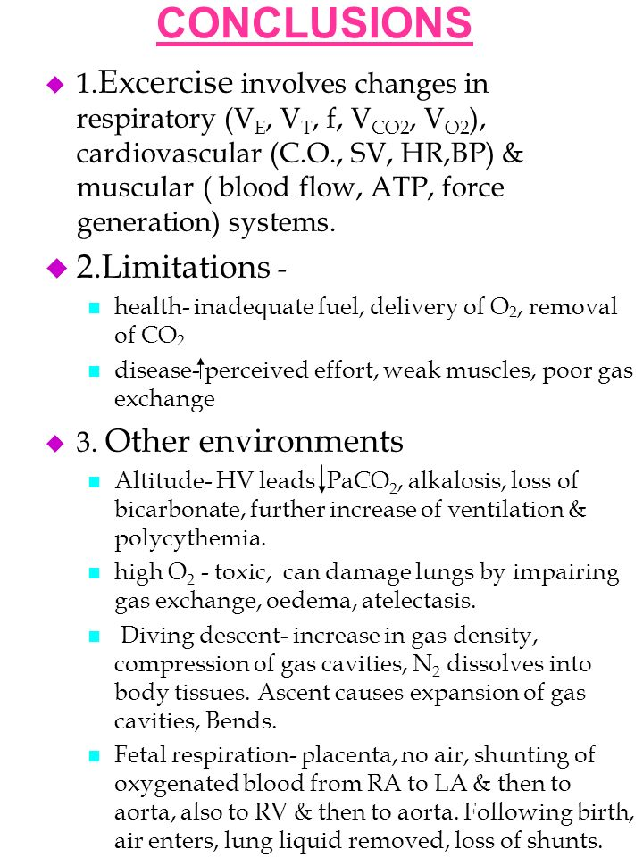 Respiratory System Under Stress Ppt Download