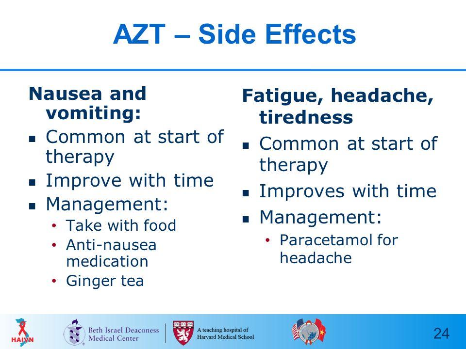 Zidovudine Side Effects Babies