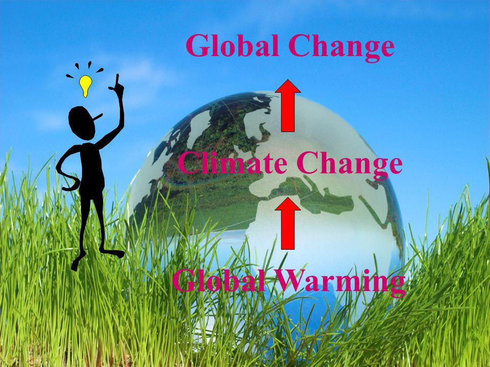Global Change Climate Change Global Warming