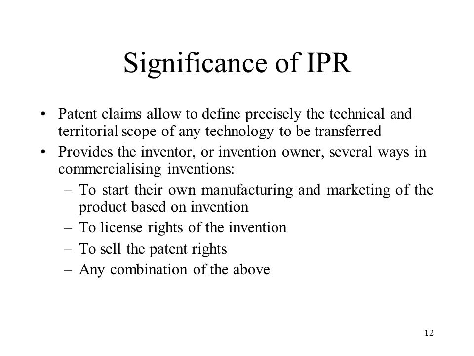 Define Intellectual Property Rights And Its Types