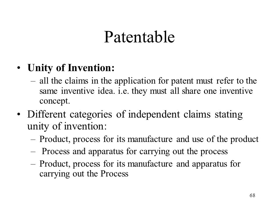 patentability criteria in different countries Therapeutic, surgical and diagnostic methods were excluded from patent pro- be patentable if they were modi ed in a way that satis ed the patentability criteria of novelty even in countries where the patentability of such methods is allowed, patents.