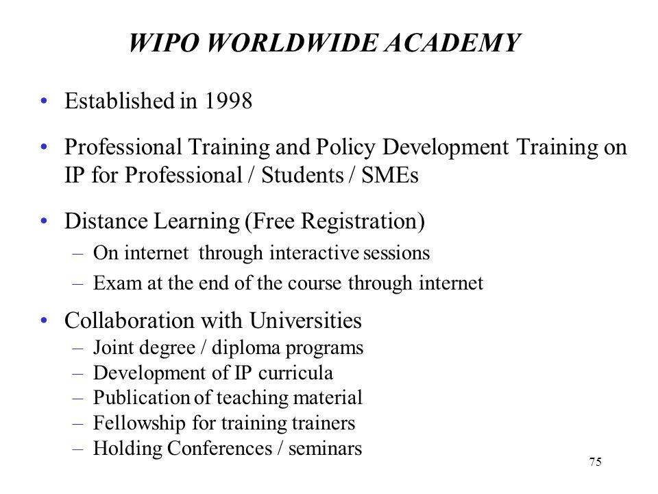 Law Degree Specification Intellectual Property