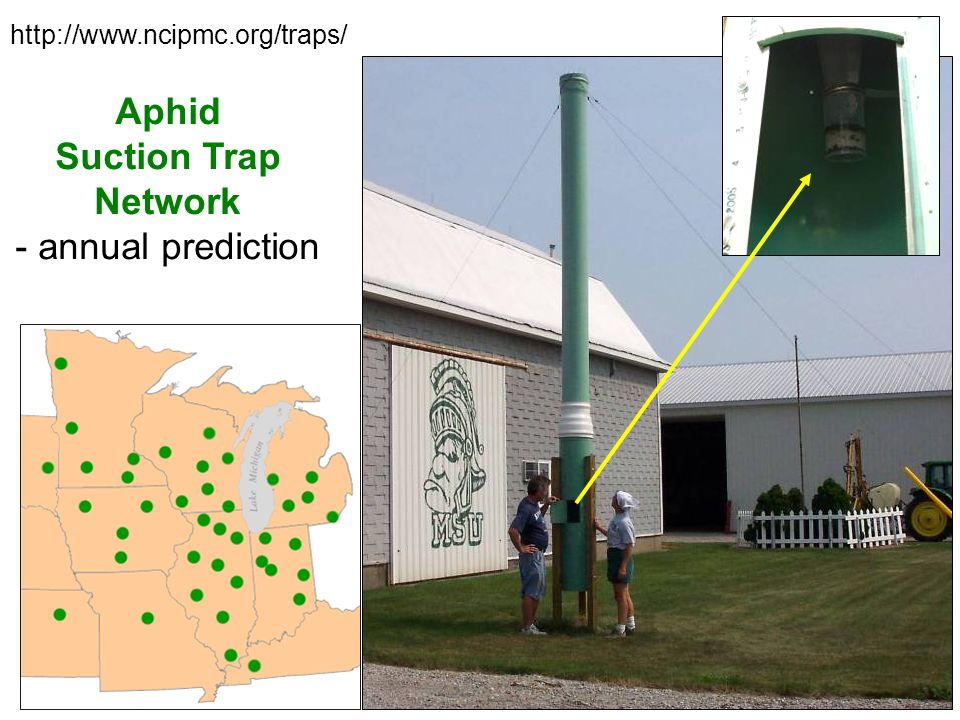 Aphid Suction Trap Network