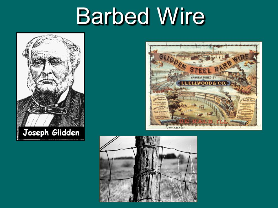SETTLING THE WEST Settlement of the Great Plains 1860 to ppt download – Joseph Gidden Barbed Wire Diagram